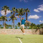 Tennis time at Casa del Mar