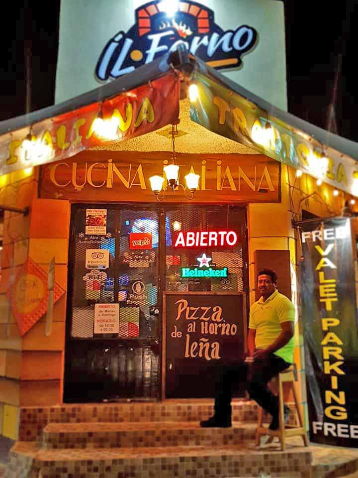 IL Forno Restaurant Cabo Wine Club