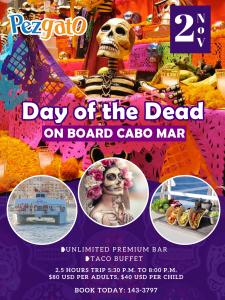 Pez Gato Day Of Dead
