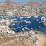 Cabo San Lucas Marina and Town aerial 2017 1185