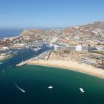 Cabo San Lucas Marina aerial view July 2017 0326