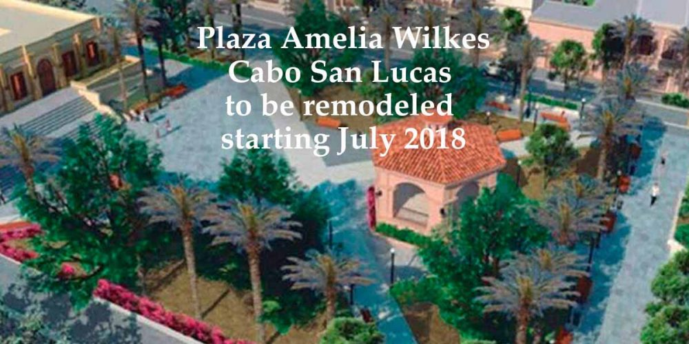 Plaza Amelia Wilkes is being remodeled