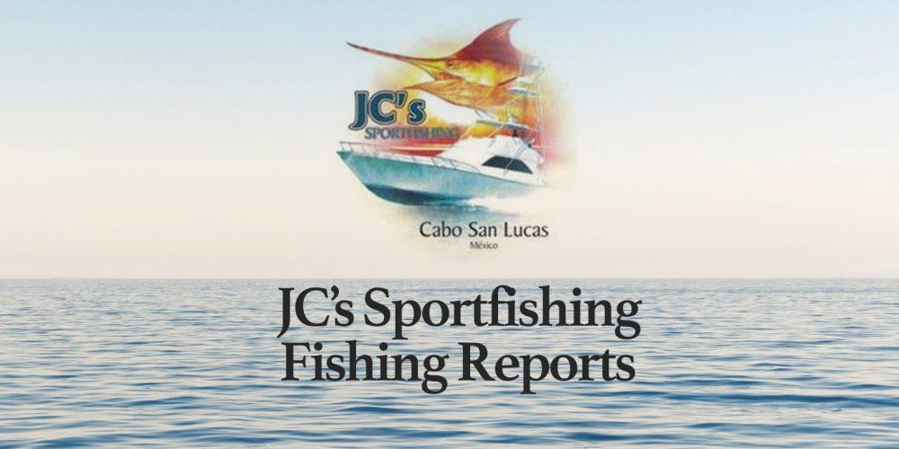 JC Sportfishing Fish Report of October 7, 2018
