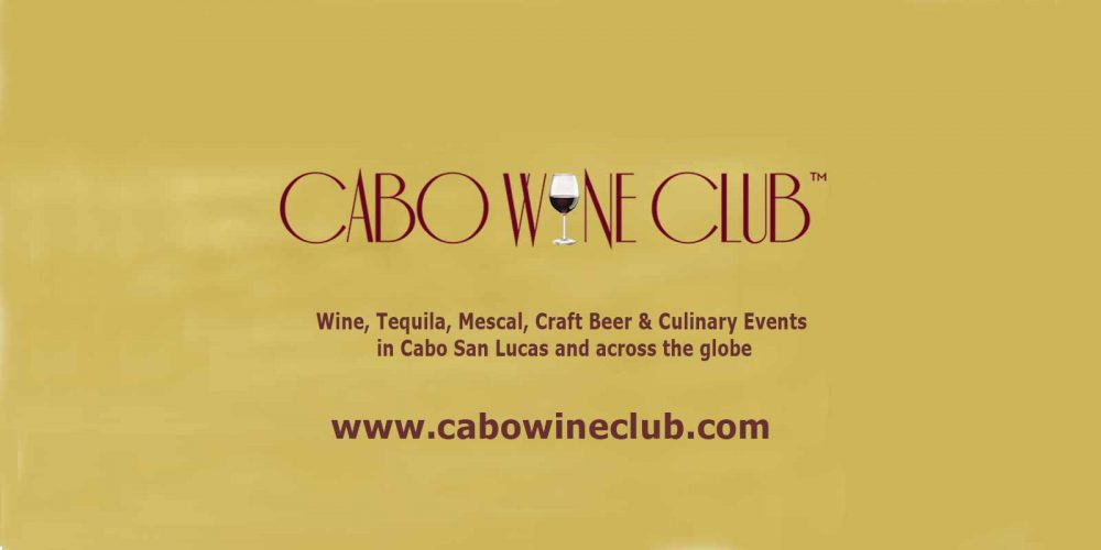 Meet the Winemaker, Cabo Wine Club 21 May 19