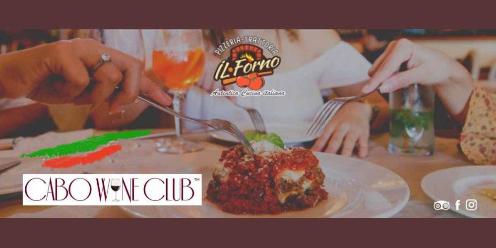 Enticing Italian Wine & Dish Sampling Cabo Wine Club