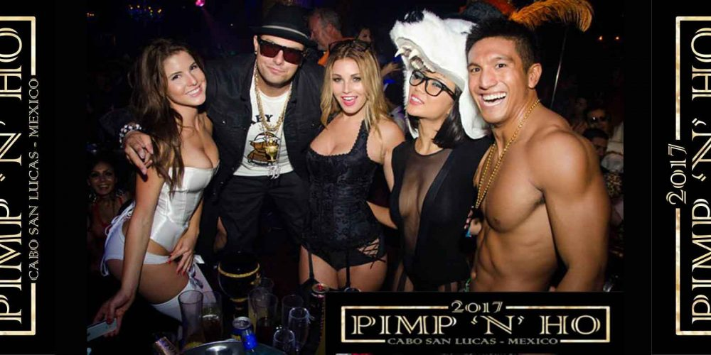 Pimp N Ho Costume Ball CABO 2017