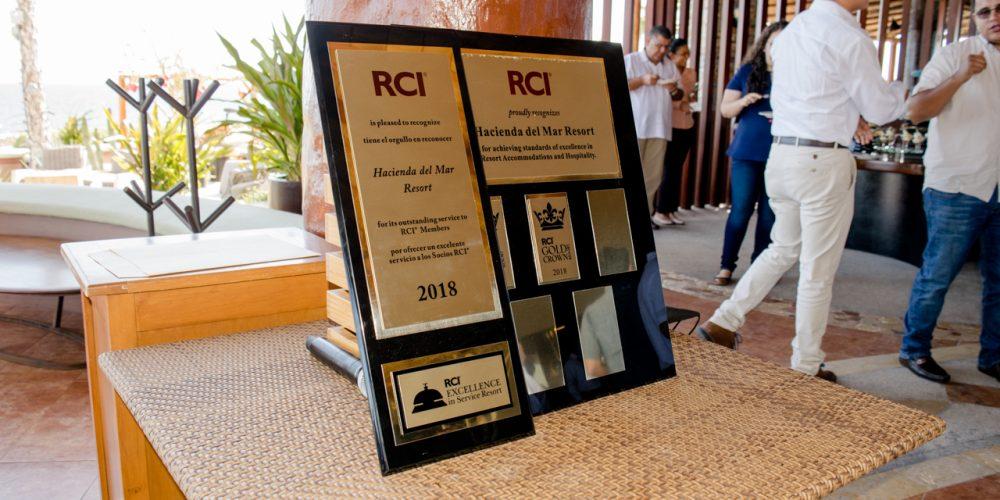 Hacienda del Mar celebrates its ninth international RCI recognition