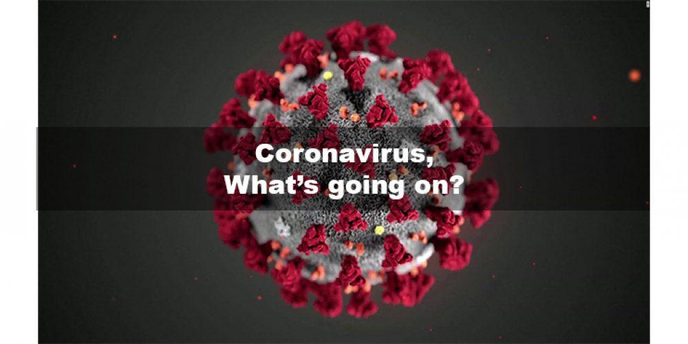 Coronavirus, COVID-19 – What's going on?