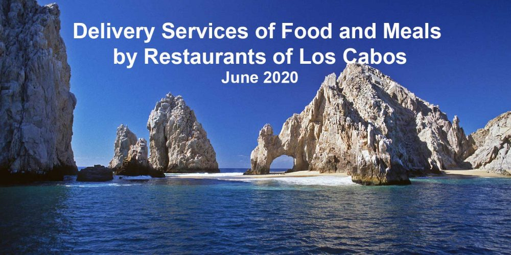 Delivery Services for Food and Meals in Los Cabos