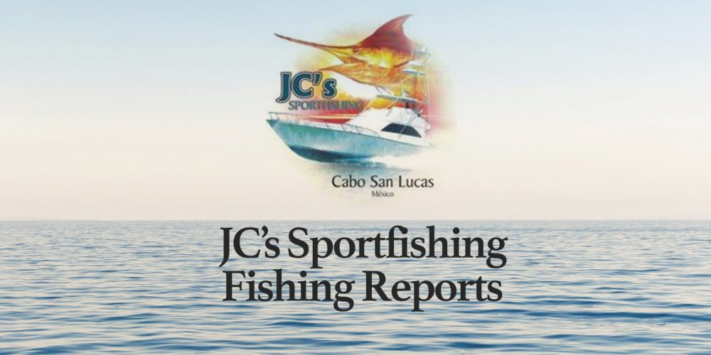 JC Sportfishing Fish Report of September 2, 2018