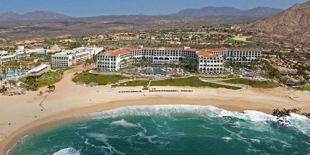 Hilton Los Cabos  Beach & Golf Resort Aerial