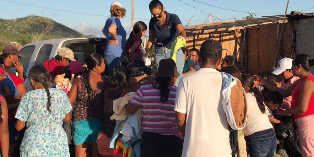 Humanitarian Efforts Continue Following Tropical Storm Lidia