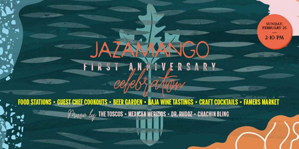 Jazamango Restaurant First Anniversary