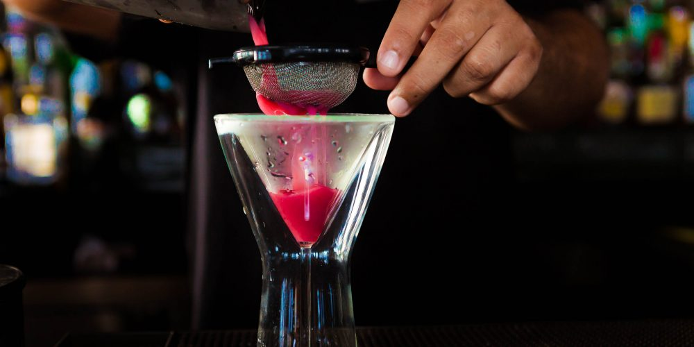 """Los Cabos Drink of the week """"Martini Berry"""" By Pitahayas Restaurant"""