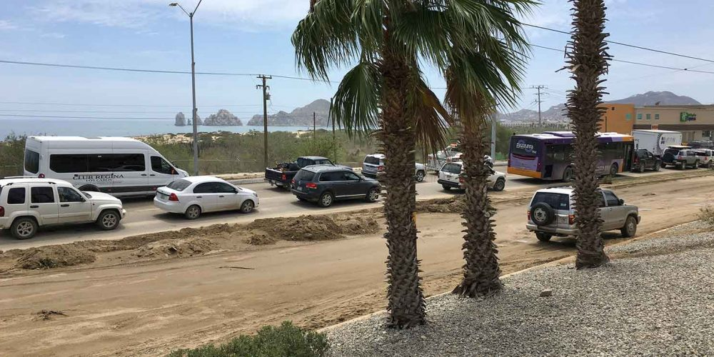 Workers in Los Cabos continue to clean up after Lidia