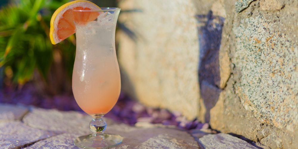 "Summer Cocktail ""Paloma Oaxaqueña"" by Los Riscos Restaurant"