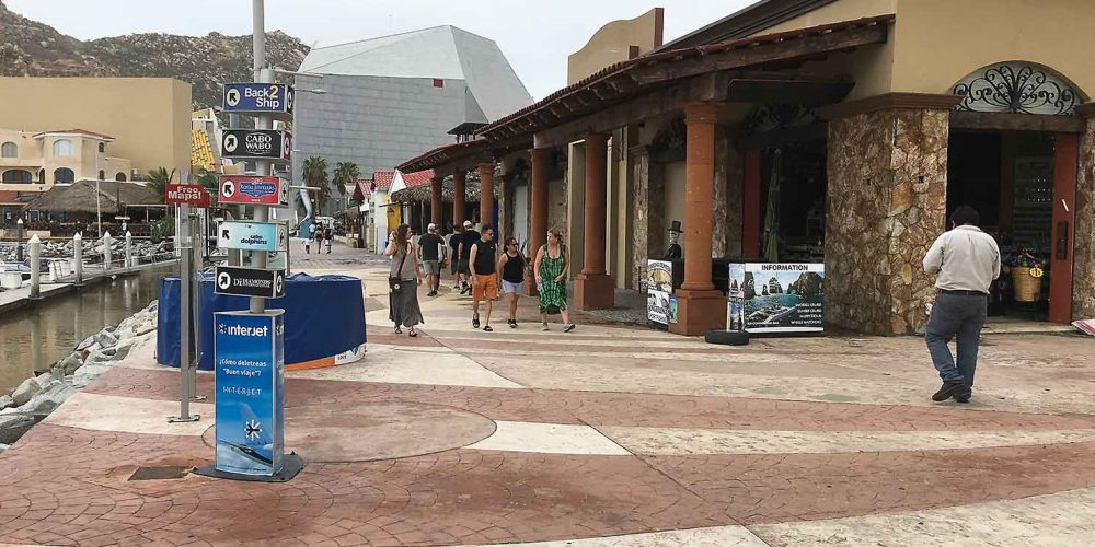 Cabo San Lucas Rebounds after the visit from Tropical Storm Lidia